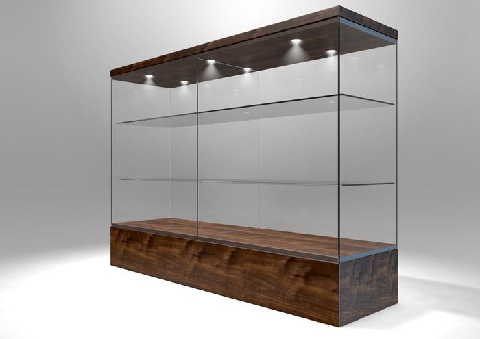 Custom plastic display case manufacturer in utah cases - Custom display cabinets ...